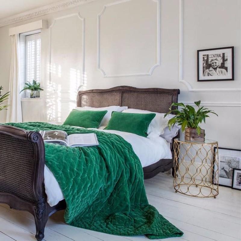 10 Stunnning Emerald Green Bedroom Designs Master Bedroom Ideas
