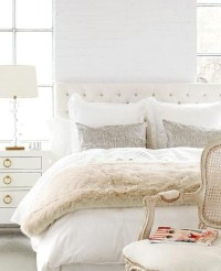 10 All White Bedrooms for 2018  Master Bedroom Ideas