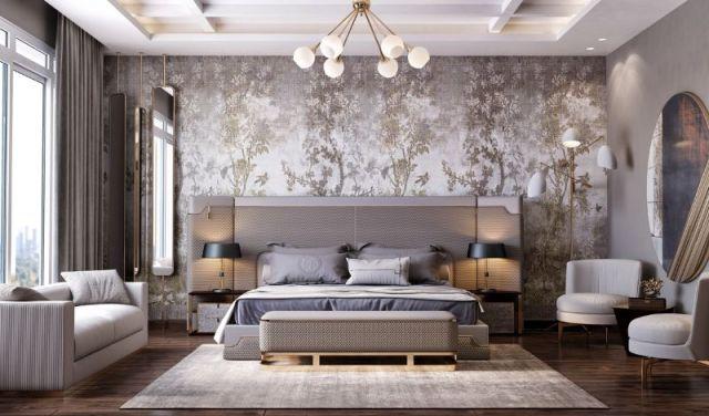 Modern Wallpaper Ideas For A Contemporary Bedroom Design ...