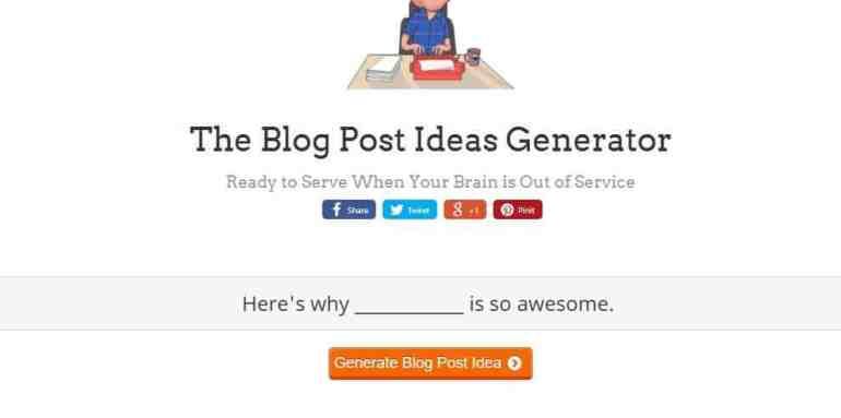topics to write about on blog