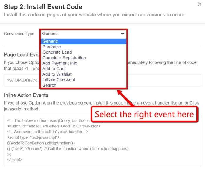 quora event code