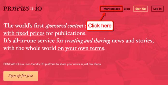 PRNews Marketplace Link
