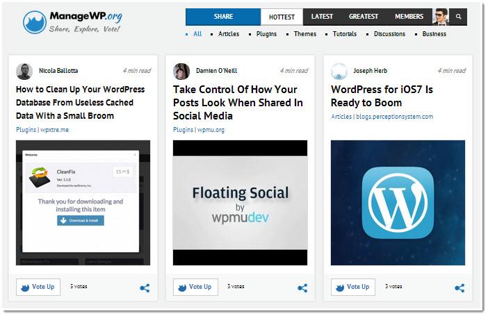 managewp org screenshot