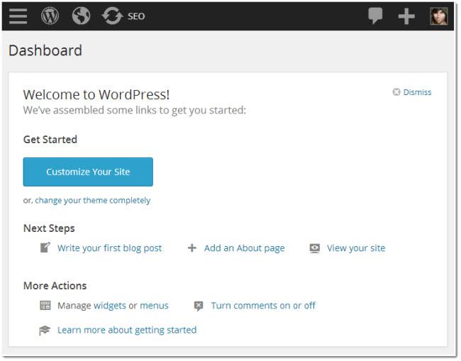 responsive wordpress admin page