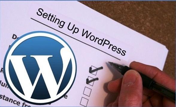 setting up wordpress guide