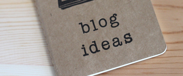 perfect blogging topic