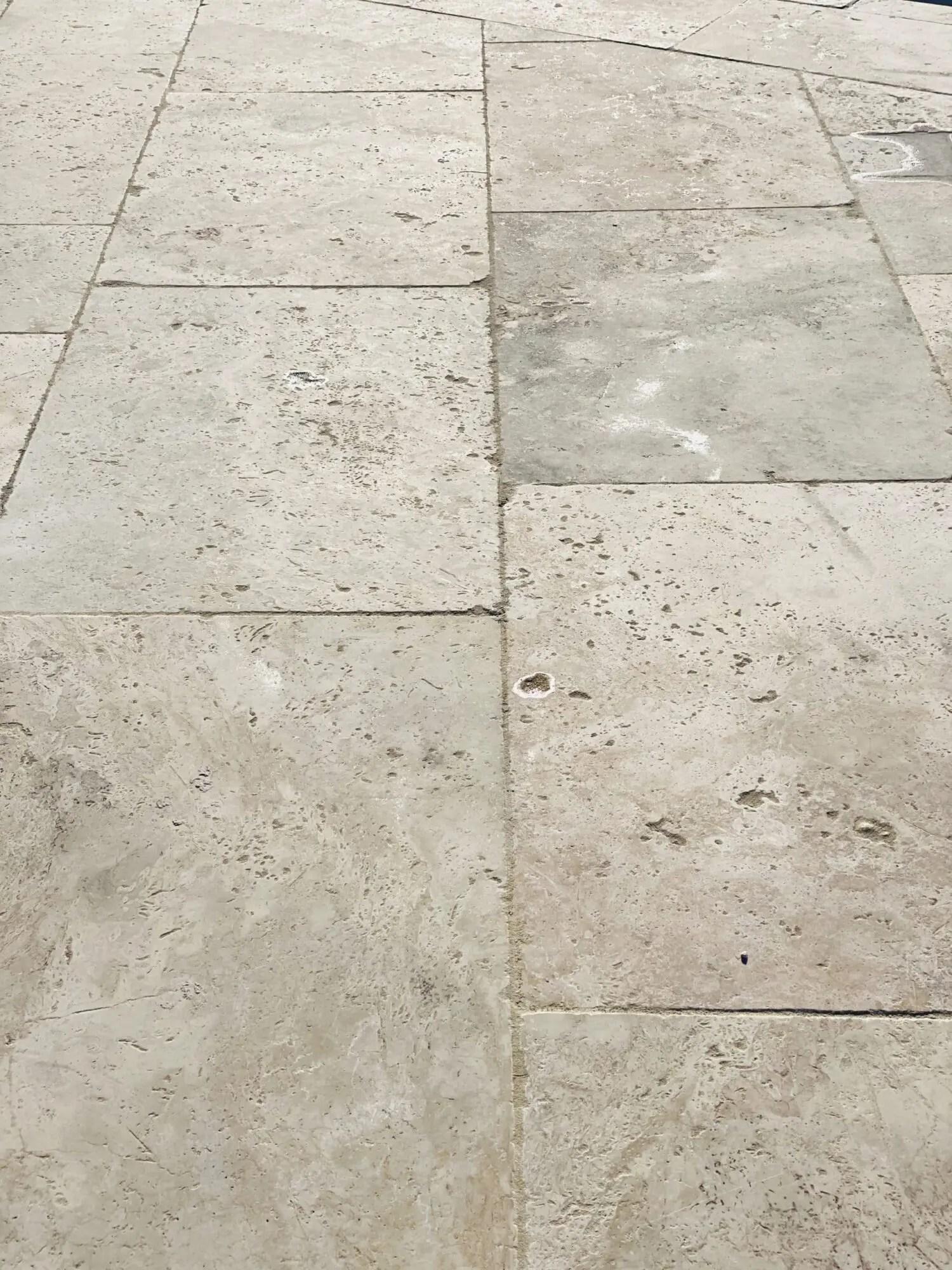 arrivage massif travertin 60x90 cm pierre naturelle