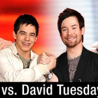 American Idol Season 7 Top 2 Finalists: David Archuleta and David Cook