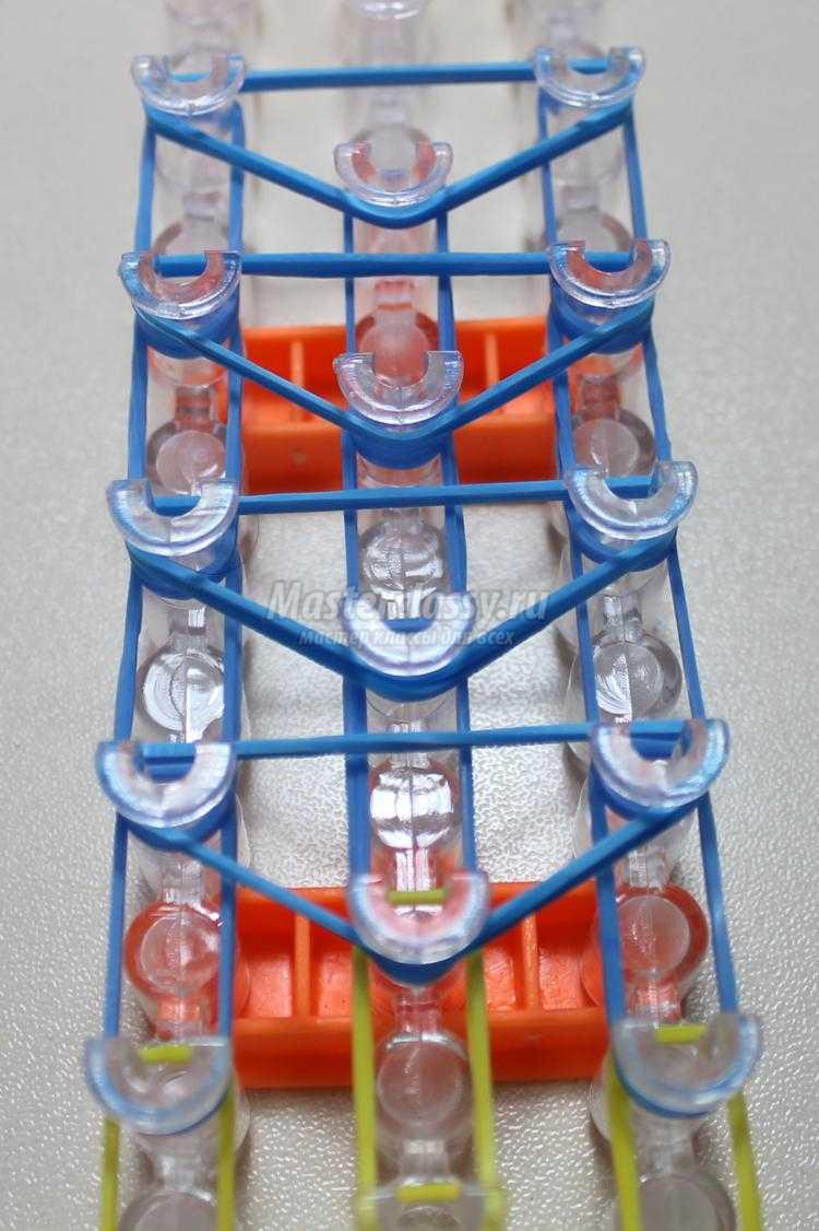 Резеңке жолақтардың төрт түстері: сары, көк, қара және ақ түстер.