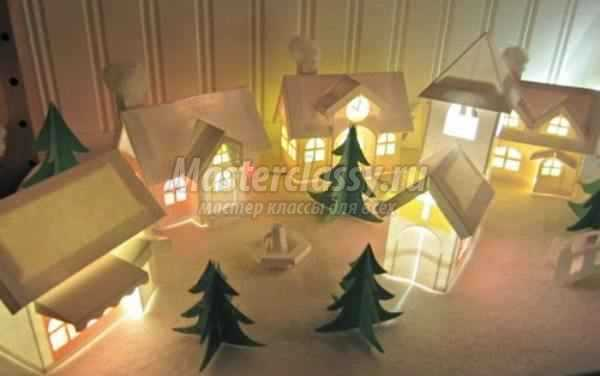 Жаңа жылдық үй мұны өзіңіз жасаңыз