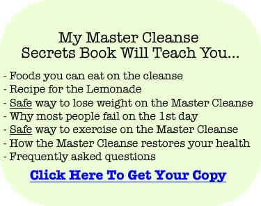 Free Master Cleanse Secrets ebook