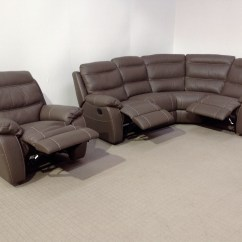 Leather Couch And Chair Reupholster A Softaly Reclining Corner Sofa Matching