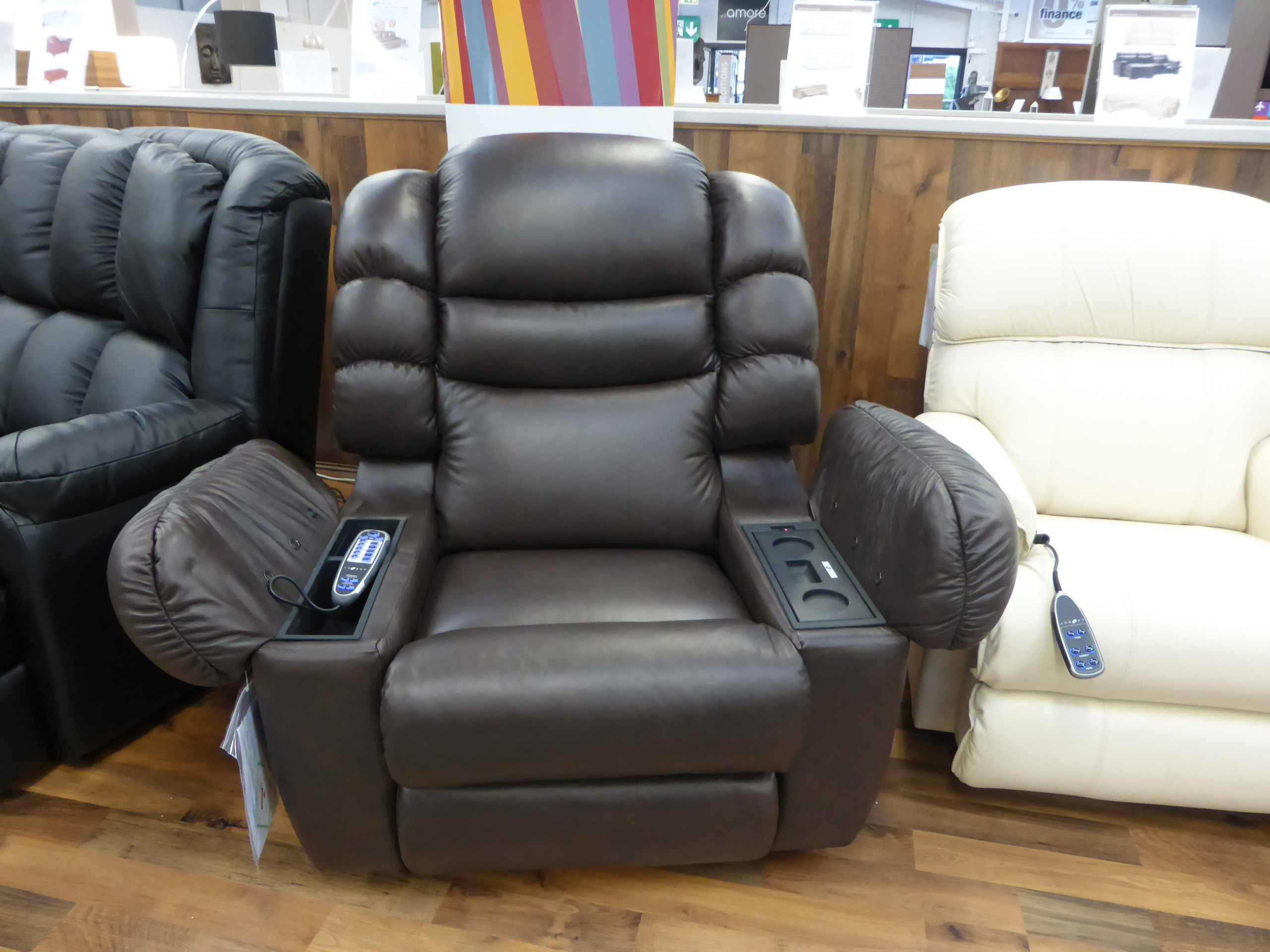 lazy boy sofas for sale broyhill medici sectional sofa la-z-boy cool cooler leather recliner,massage & built in ...