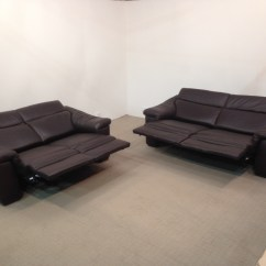 Natuzzi Electric Recliner Sofa Corner Lounge Beds Editions Sensor B760 Reclining 3 And 2