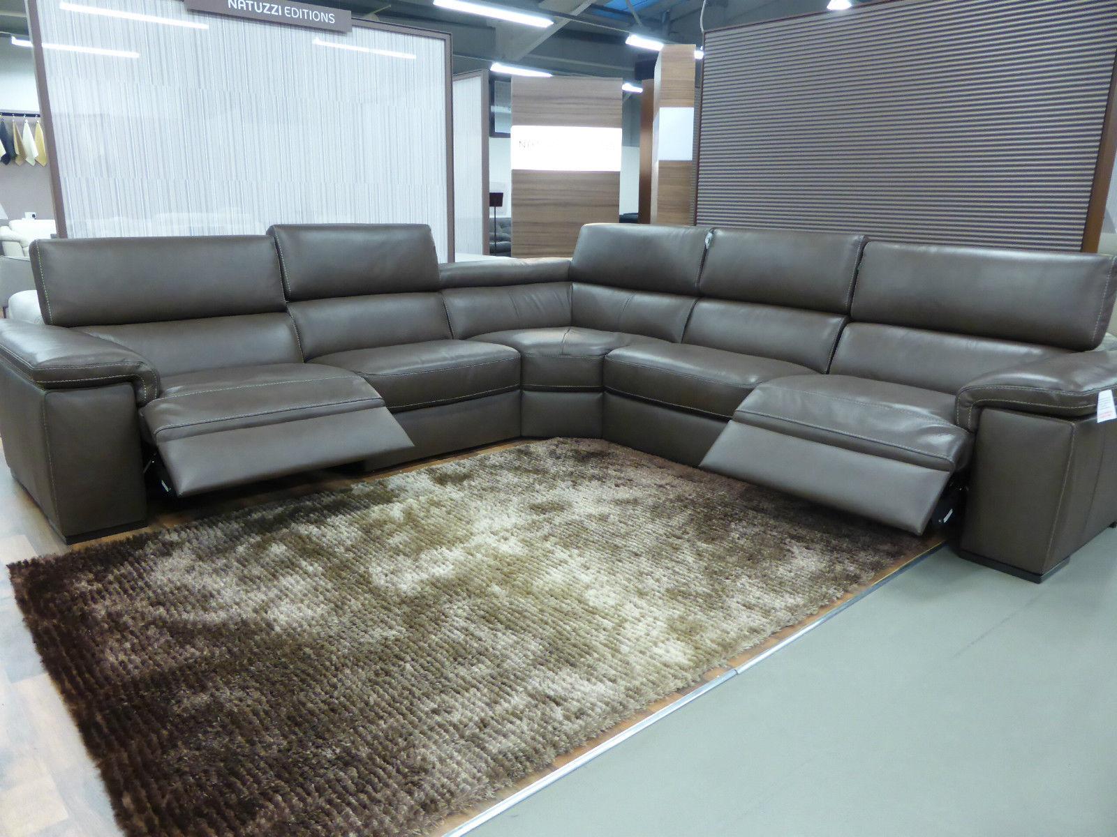 outlet sofas sofa italian design natuzzi editions brown panama large power corner