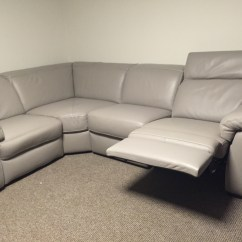 Natuzzi Sectional Sofa Connectors Pictures Of Throws On Leather Sofas Edition Sensor B760 Electric Reclining Corner