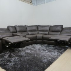 Genuine Leather Power Reclining Sofa Indian Corner Made By