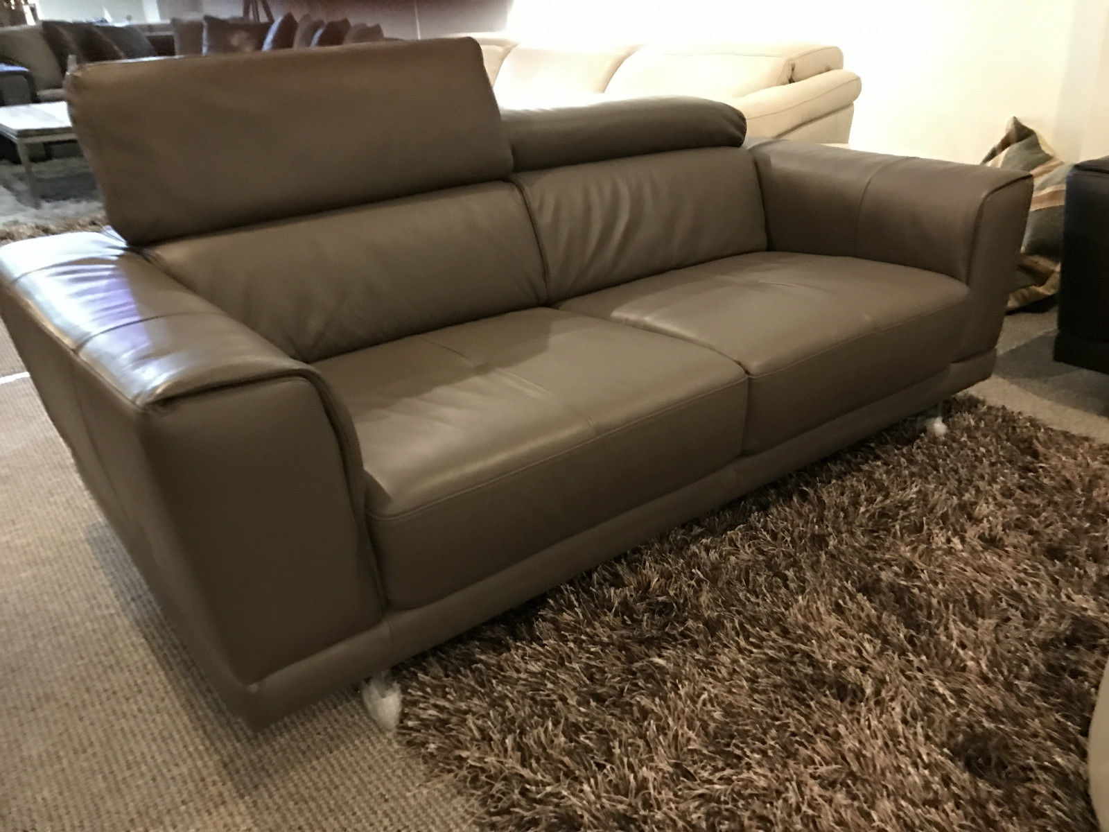 natuzzi sofa bed clearance modern fabric texture editions b887 raphael large 2 seater