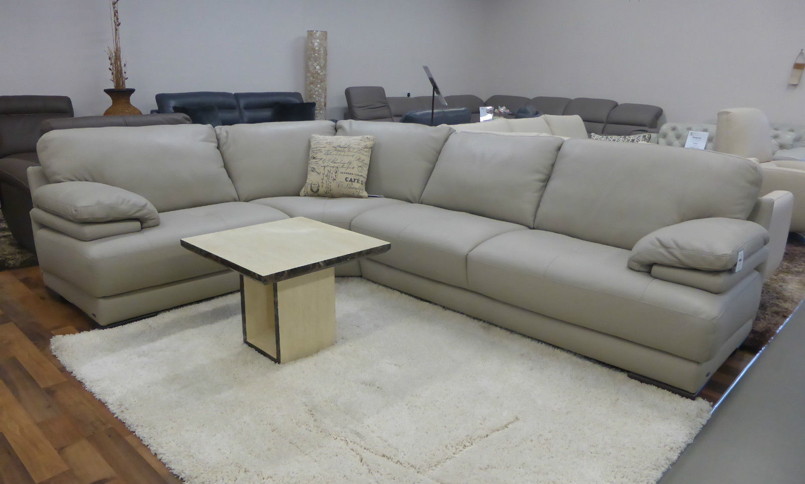 are natuzzi sofas good quality star furniture leather editions plaza corner suite in high thick