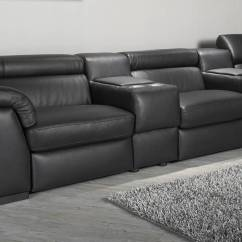 Natuzzi Sectional Sofa Connectors Room And Board Slipcovers Encore Modular Cinema Furnimax Brands Outlet