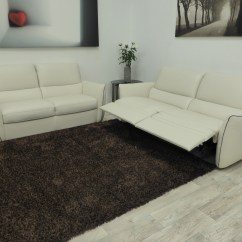 Natuzzi Arona 2 Seater Leather Sofa Bed Fabric Protection Editions Arte 3 Recliner And Static