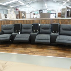 Home Cinema Sofa Seating Uk How To Reupholster Arms Teatro Electric Reclining Furnimax Brands Outlet