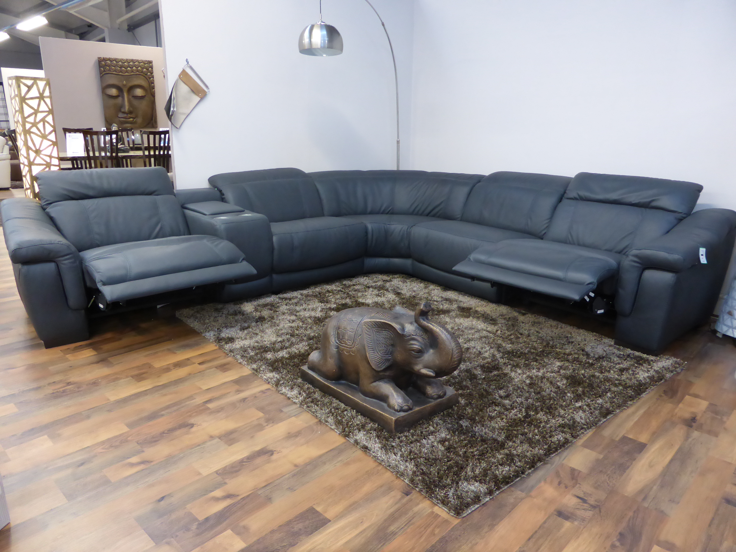 electric recliner leather sofas uk double sofa bed argos bianco italian anthracite reclining