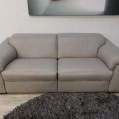Natuzzi Arona 2 Seater Leather Sofa Bed Table Behind Ideas Edition Sensor B760 Electric Reclining