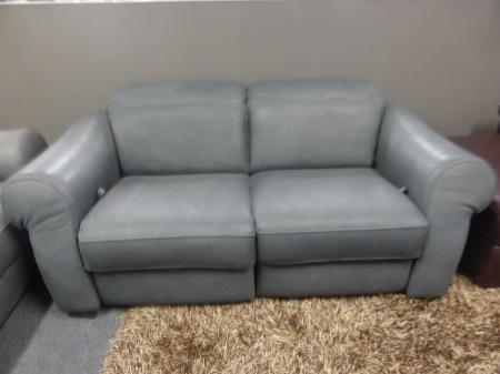 natuzzi sofa recliner repair sleeper at target editions grey natural leather manual 3 ...
