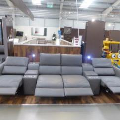 Home Cinema Sofa Seating Uk Fabrizio Leather 6 Piece Sectional Natuzzi Editions Latest Model | Furnimax ...