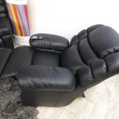 Lazy Boy Leather Living Room Furniture Light Blue And White Ideas La-z-boy Cool Recliner,massage & Built In Fridge ...