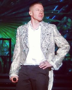 Macklemore in Behind the Candelabra Jacket