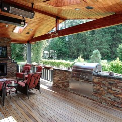 Outdoor Kitchens Chili Pepper Kitchen Decorating Themes Fireplaces Master Decks