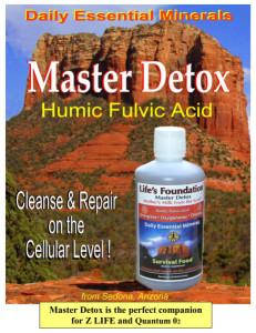 Master Detox Humic Fulvic Acid