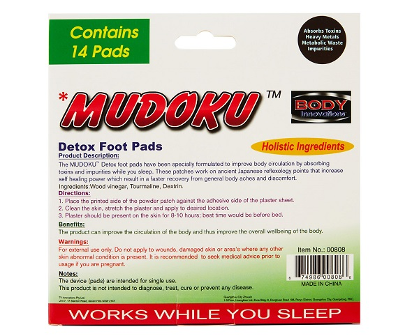 Mudoku detox foot pads review