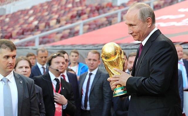 Vladimir Putin FIFA World Cup Trophy Tour kick off ceremony | Masterflex Hose