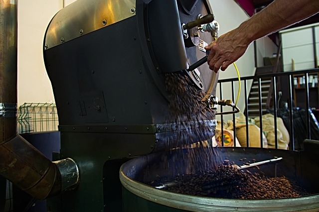 Heat Resistant Hose Application - High Temperature Coffee Roasting