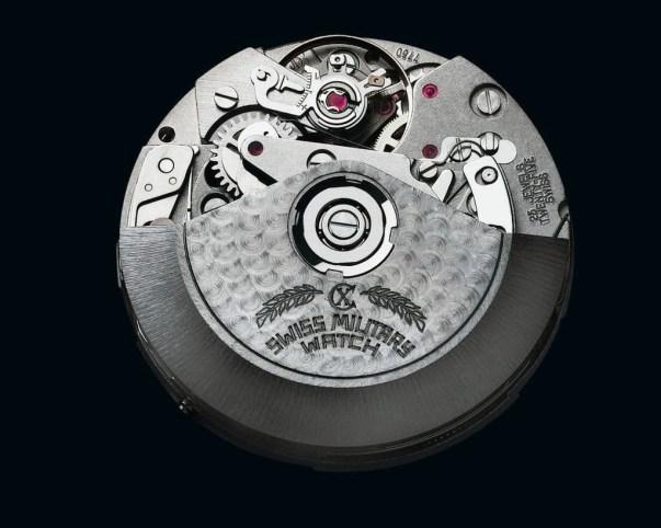 CX Swiss Military Watch™ 12'000 Feet movement ETA calibre Valjoux 7750