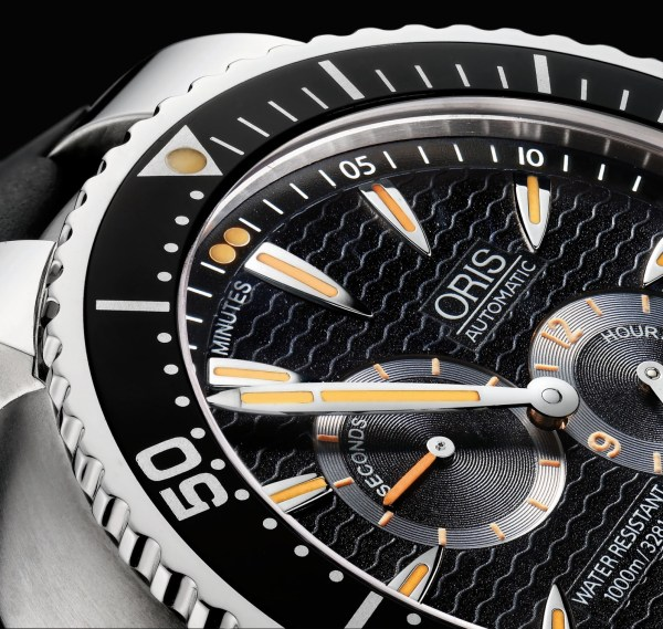 "Oris Regulateur ""Der Meistertaucher"" diving watch 1000 meters"