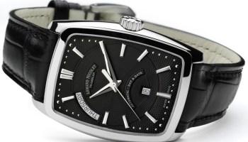 Armand Nicolet TM7 Tonneau watch black dial