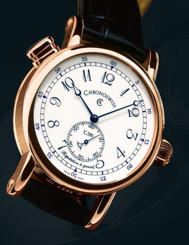 Chronoswiss quarter repeater watch