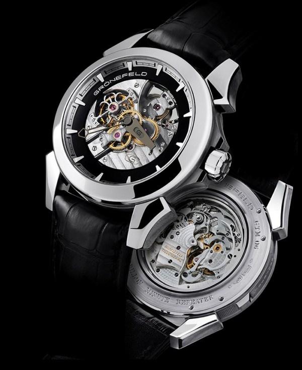 Gronefeld GTM-06 Tourbillon Minute Repeater platinum watch