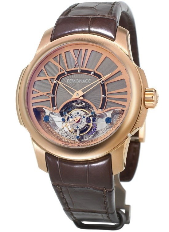 Ateliers deMonaco Ronde d'Or Grand Tourbillon XP red gold watch