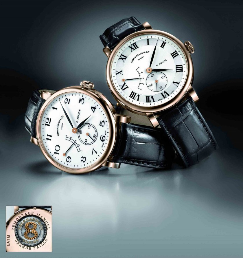 Eberhard & Co. 8 Jours Grande Taille in Rose Gold