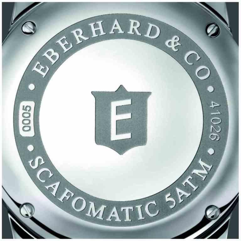 Eberhard & Co. SCAFOMATIC watch case-back