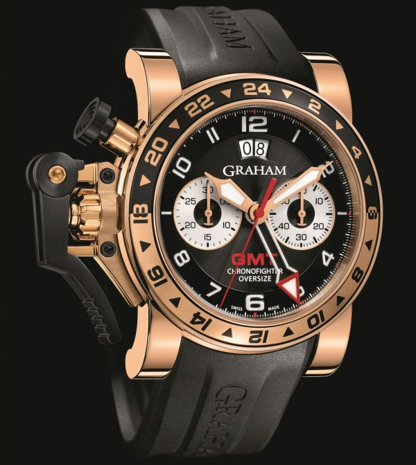 Graham-London Chronofighter Oversize GMT Gold Big Date