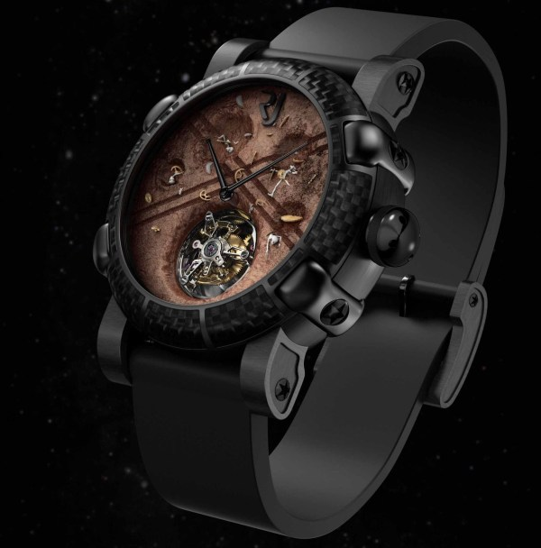 """Romain Jerome Moon Dust-DNA """"The Truth About Roswell"""" Exclusive Limited Edition"""