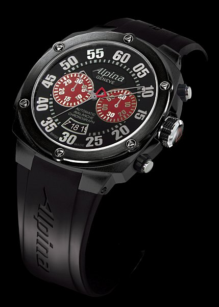 Alpina Extreme Chrono Double Digit Automatic Chronograph
