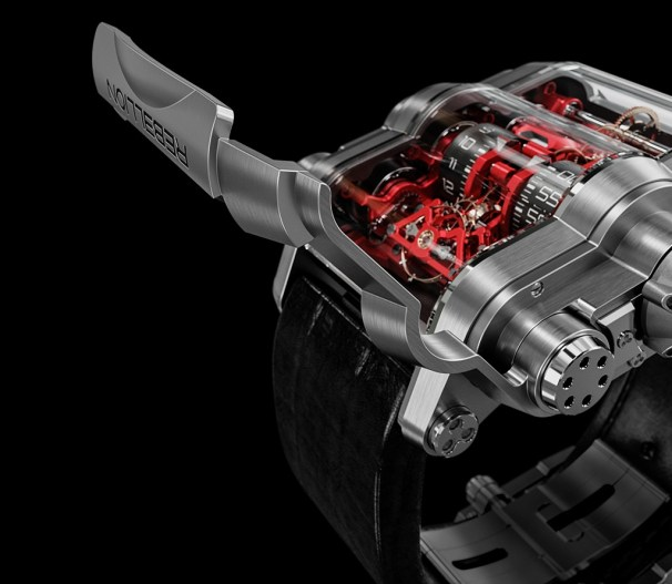 Rebellion T-1000 - The mechanical watch with a power reserve of 1000 hours
