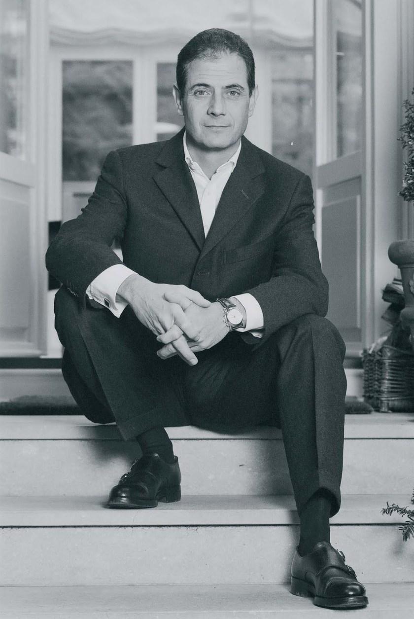 César Jean-Mairet, founder of Jean-Mairet & Gillman watch brand